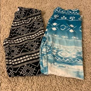 Bundle 2 Leggings size medium
